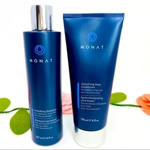 Monet Set Smoothing Deep Conditioner and Shampoo